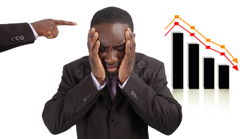 Wrong Investment royalty free stock images
