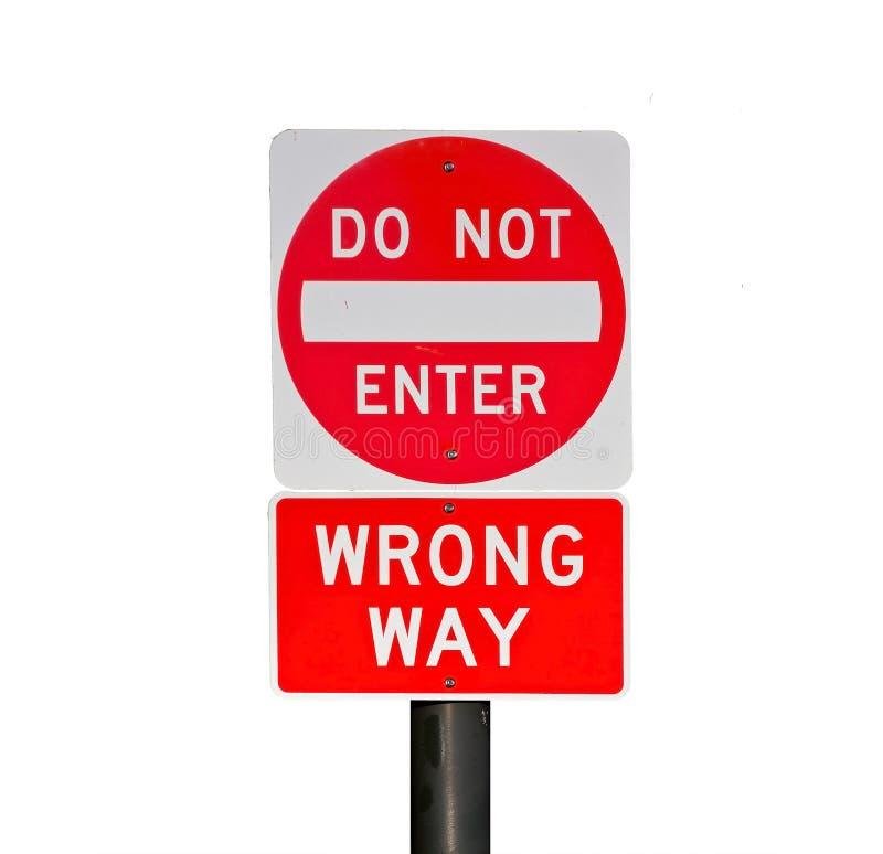 Download Wrong way stock photo. Image of warning, incorrect, abstract - 16226140