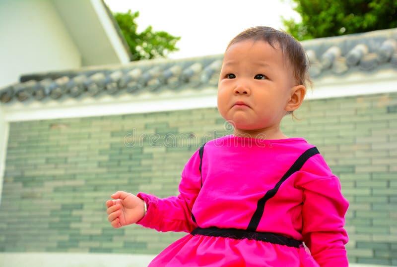 Wronged baby royalty free stock image