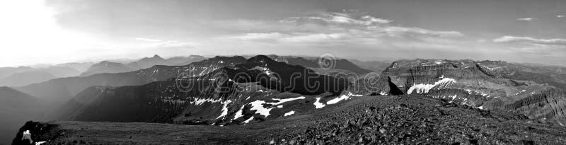 Wroni szczyt, Montana fotografia stock