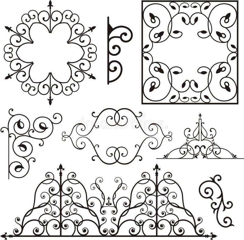 Free Wrough Iron Ornaments Royalty Free Stock Photos - 3739428