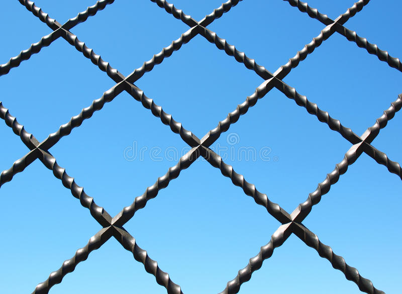 Download Wrought-iron stock image. Image of italy, grating, fence - 15498753
