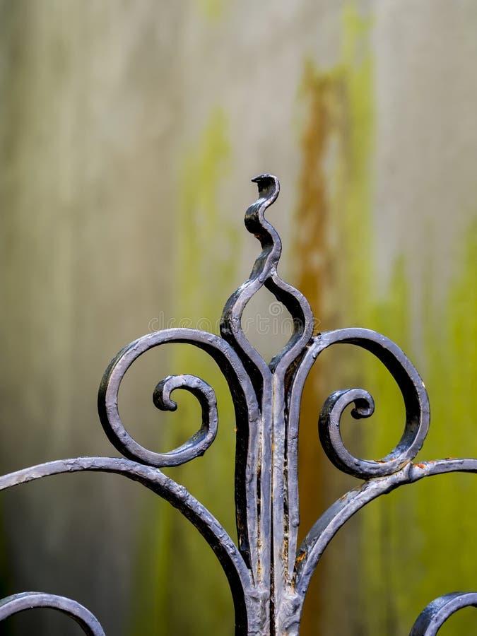 Wrought iron decoration royalty free stock photos