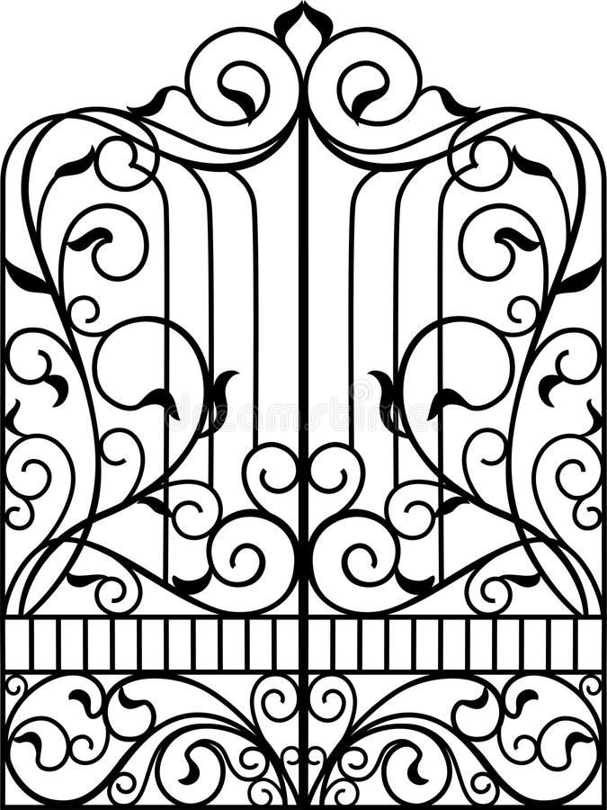 Free Wrought Iron Gate, Door, Stock Photos - 79589643