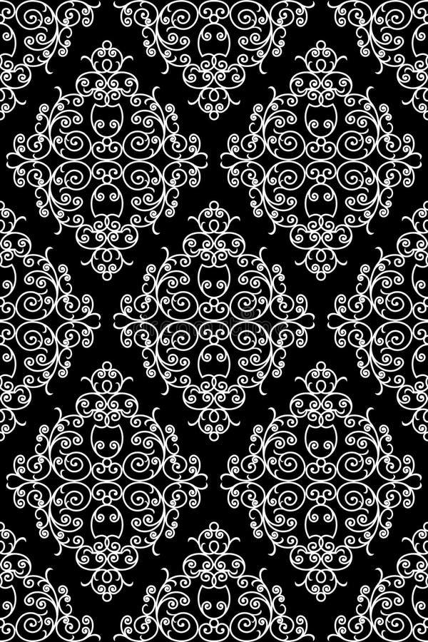 Wrought iron pattern royalty free illustration