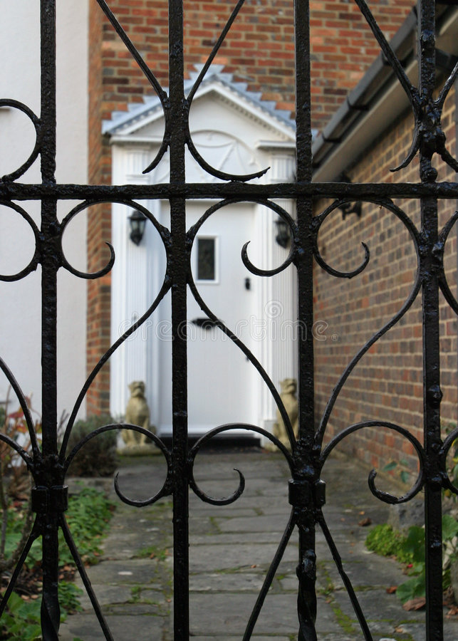 Download Wrought Iron Railings (selective Close Focus) Stock Photo - Image: 50244