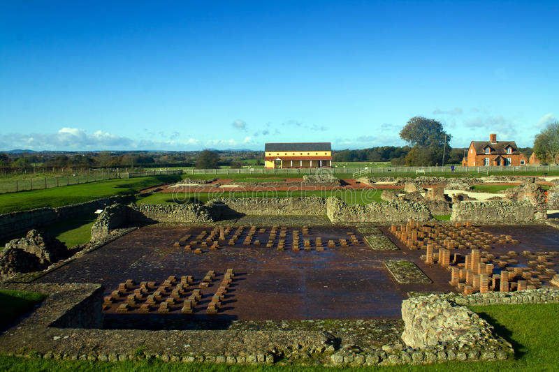 Wroxeter Roman City images stock