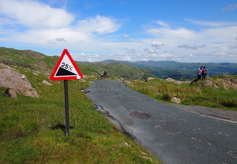 Wrynose Pass, Lake District, UK stock photos
