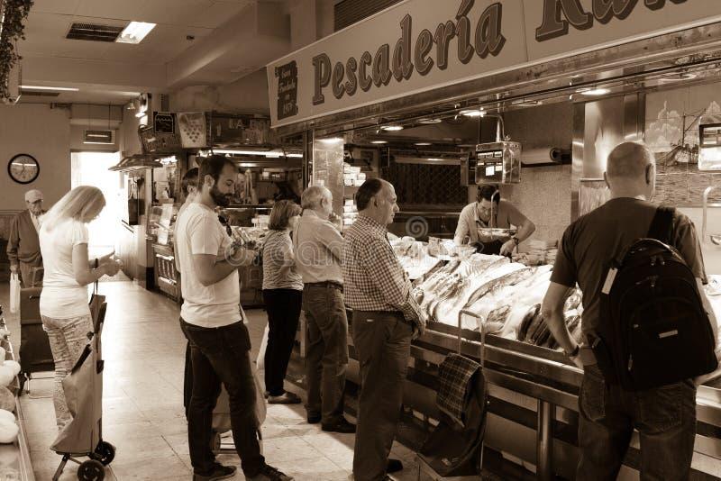 Wrzesień, 23 Madryt rynek zdjęcie royalty free