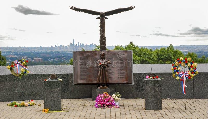 Wrzesień 11, 2001 pomnik obraz stock