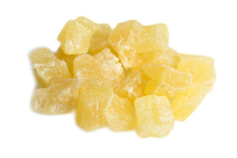 Wsad żółta candied owoc obraz royalty free