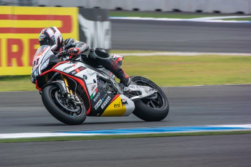 WSBK2015 - Round2 - Chang International Circuits, Buriram, Tailandia fotografie stock