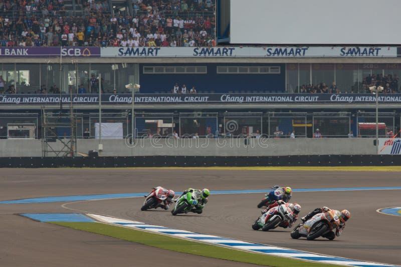 WSBK2015 - Round2 - Chang International Circuits, Buriram, Thaïlande images stock