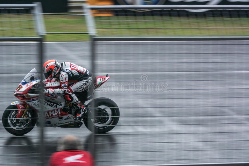 WSBK2015 - Round2 - Chang International Circuits, Buriram, Thaïlande photo stock
