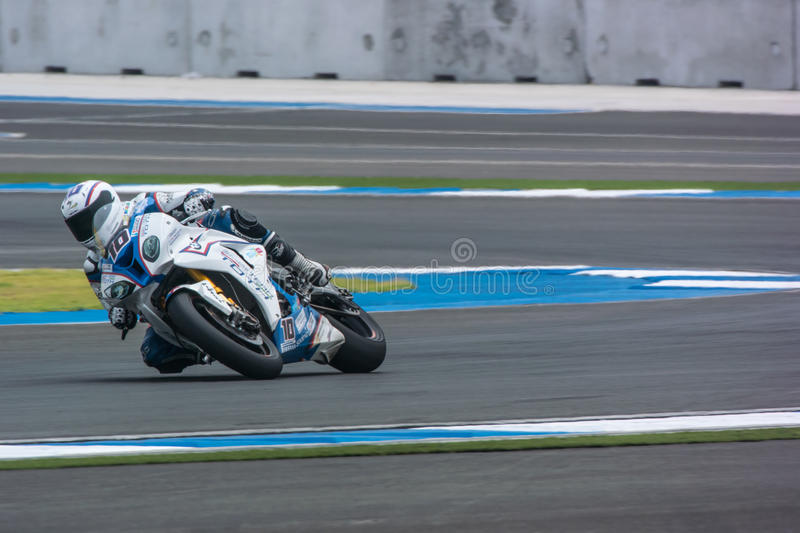 WSBK2015 - Round2 - Chang International Circuits, Buriram, Thailand royaltyfria bilder