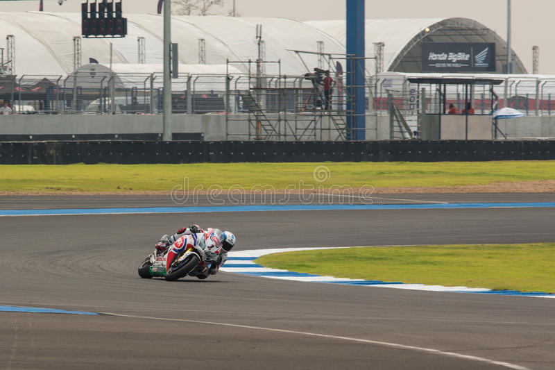 WSBK2015 - Round2 - Chang International Circuits, Buriram, Thailand royaltyfri bild