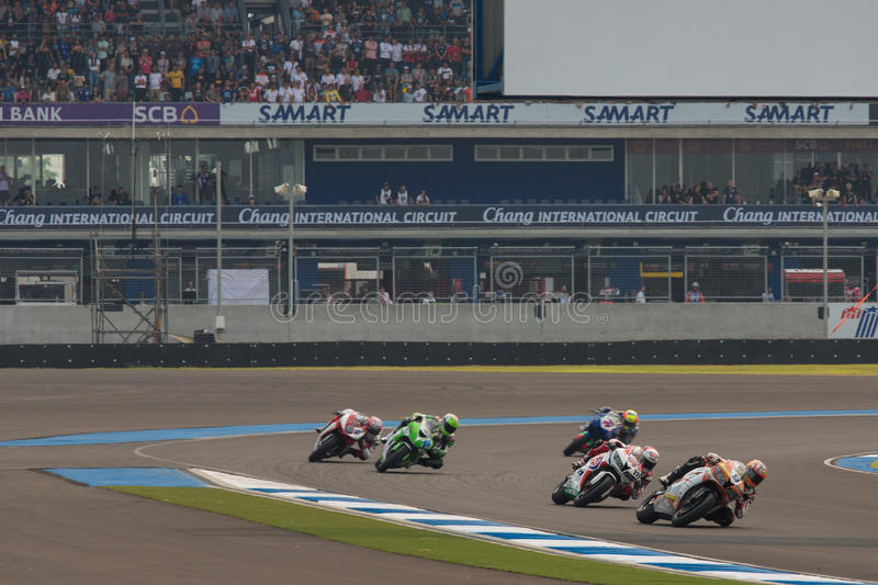 WSBK2015 - Round2 - Chang International Circuits, Buriram, Thailand arkivbilder