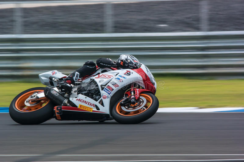 WSBK2015 - Round2 - Chang International Circuits, Buriram, Thailand arkivbild