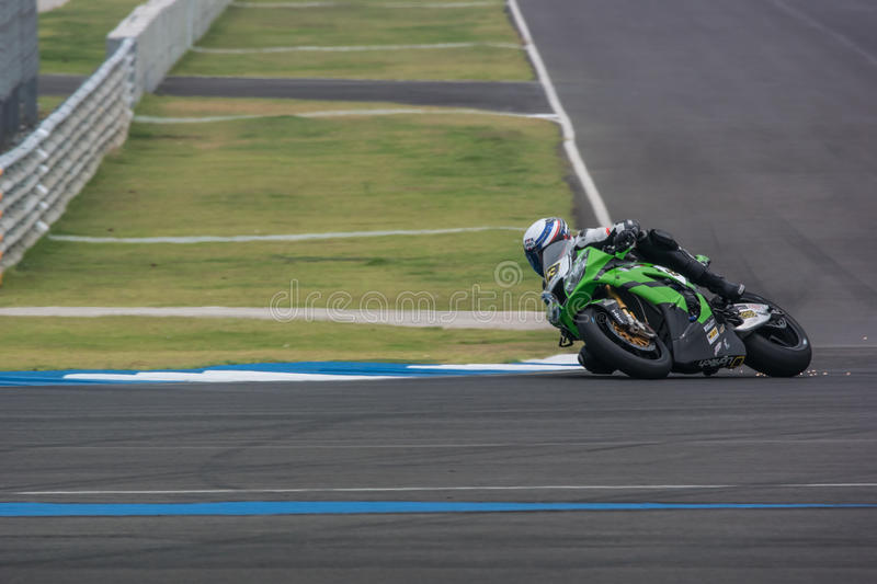 WSBK2015 - Round2 - Chang International Circuits, Buriram, Thailand royaltyfri fotografi