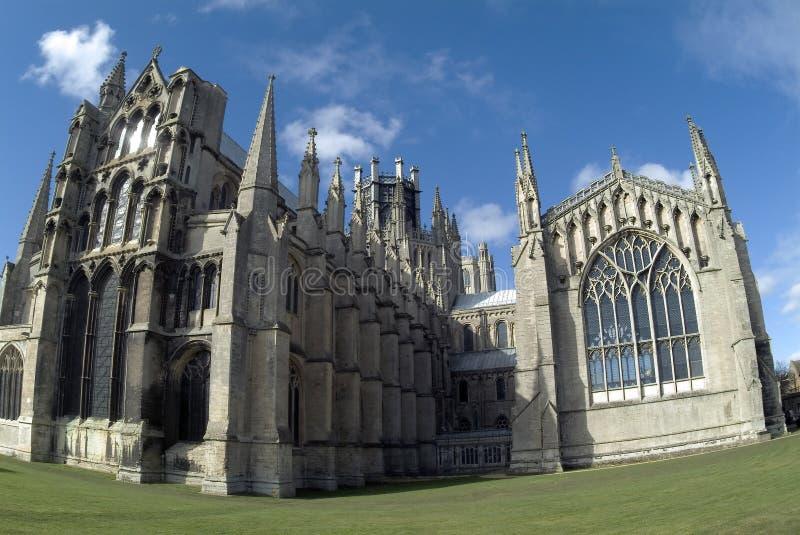 Wschód Katedralny Ely Obraz Royalty Free