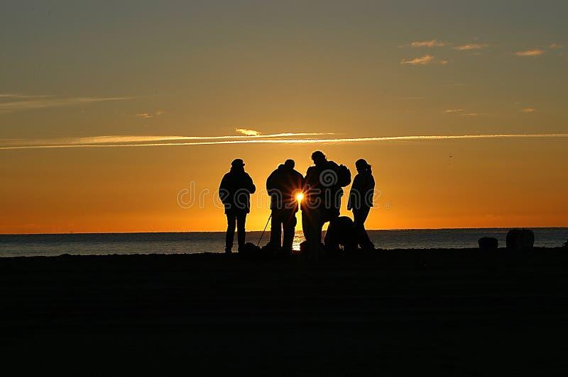Download Wschód słońca zdjęcie stock. Obraz złożonej z plaża, zmierzch - 28412