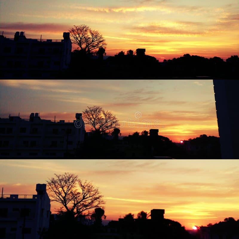 Wschód słońca obrazy royalty free