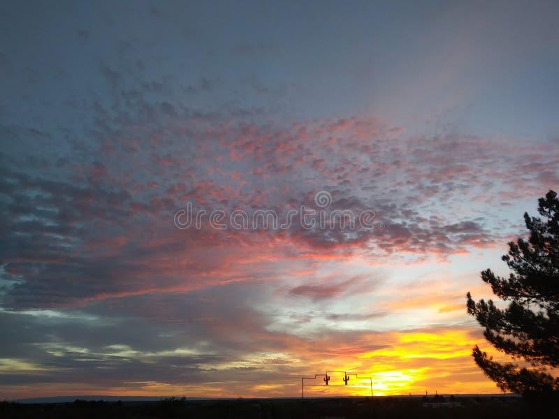1 wschód słońca obrazy royalty free