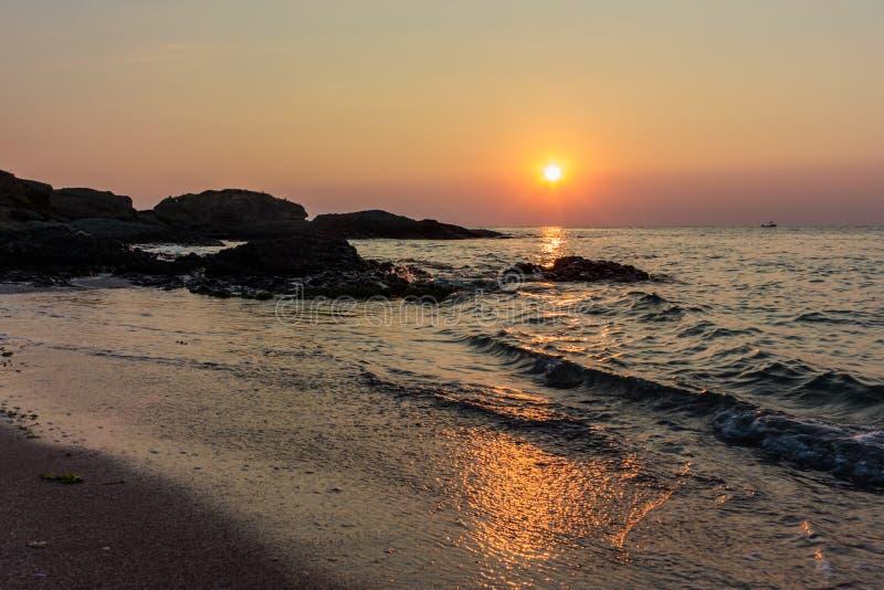 wschód słońca morza czarnego obrazy royalty free
