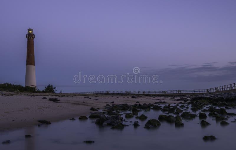 Wschód słońca nad Long Beach wyspą obrazy royalty free