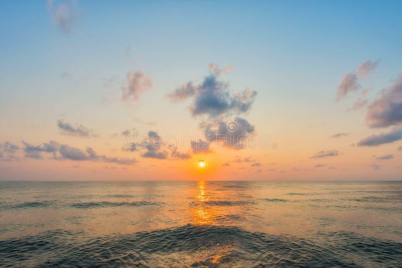 wschód słońca nad morza czarnego obraz royalty free