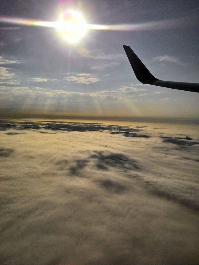 Wschód słońca od nieba zdjęcia royalty free