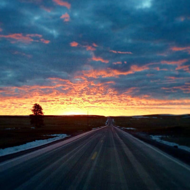 Wschód słońca piosenka zdjęcia royalty free