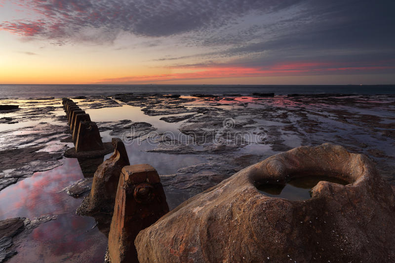 Wschód słońca przy Coledale obraz stock
