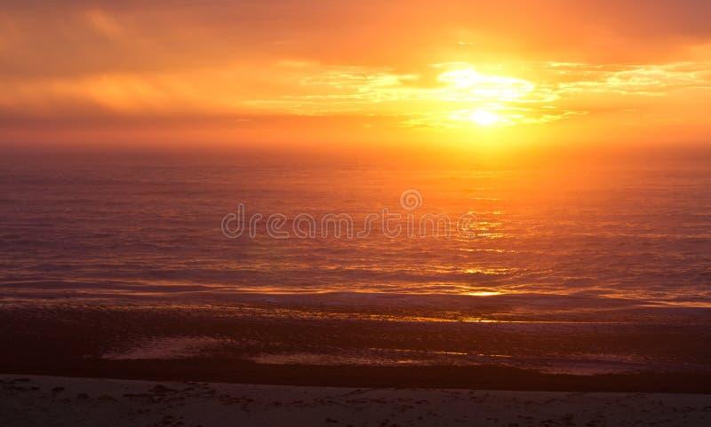 Wschód słońca przy Portowym Alfred zdjęcia stock