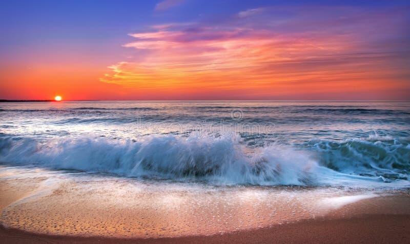Wschód słońca przy Punta Cana obrazy stock