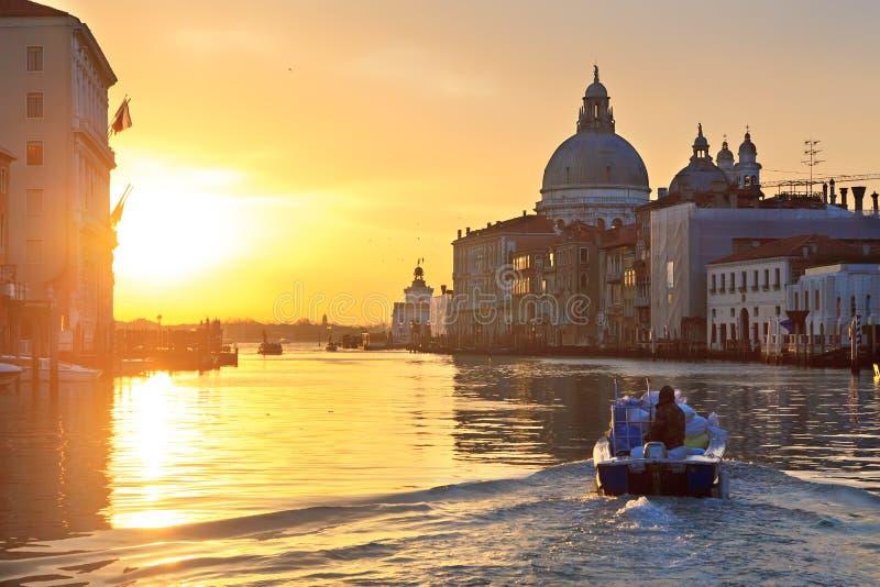 wschód słońca Venice zdjęcia royalty free