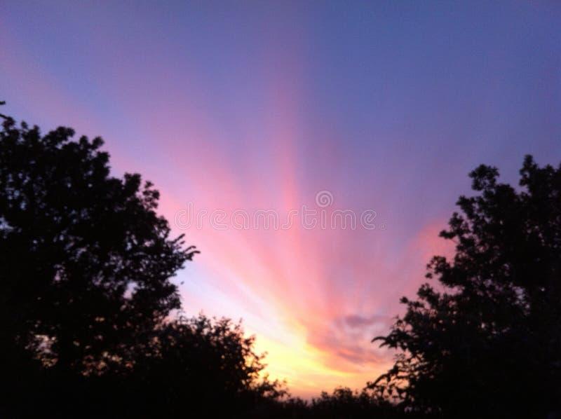 Wschód słońca w Dartmoor obraz stock