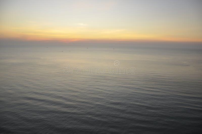 Wschód słońca w Hua Hin, Tajlandia zdjęcie royalty free