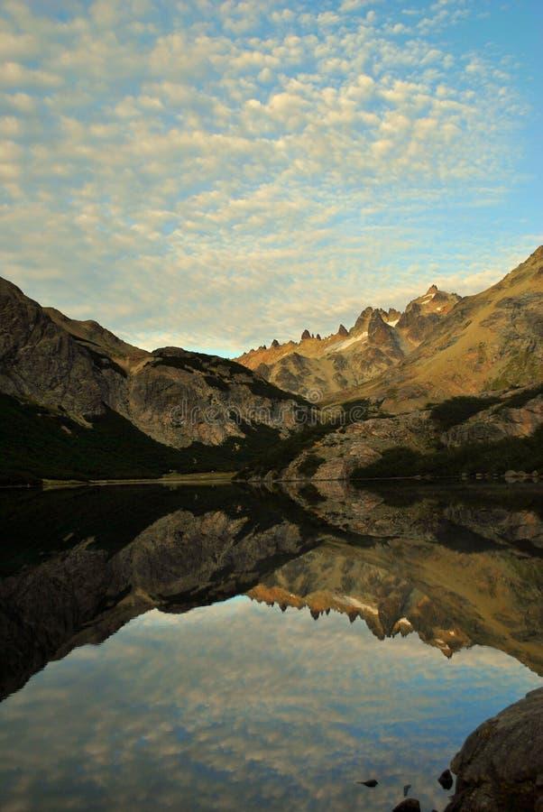 Wschód słońca w Jeziornym Jakob zdjęcia stock