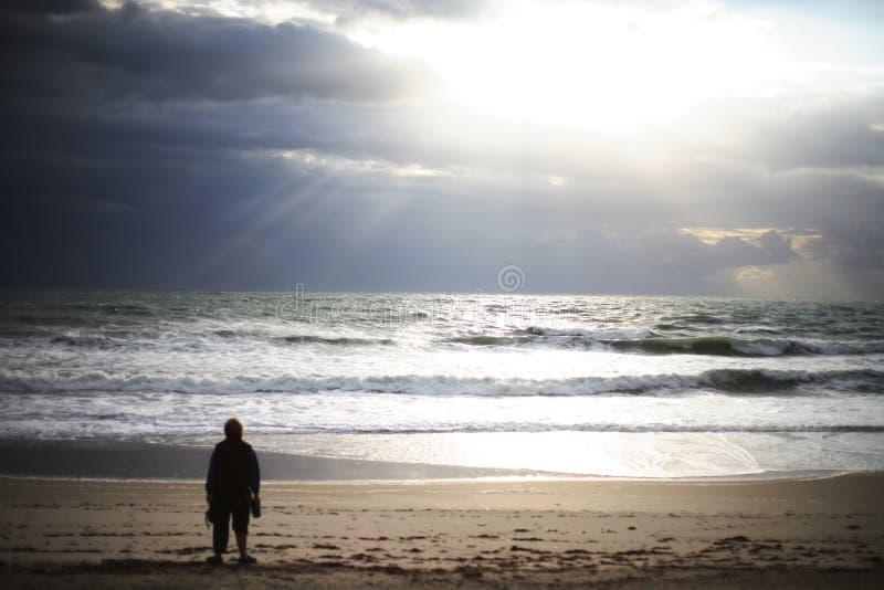 Wschód słońca wiara fotografia stock