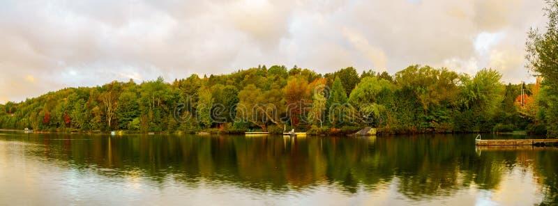 Wschód słońca widok Lac Rondo obraz royalty free