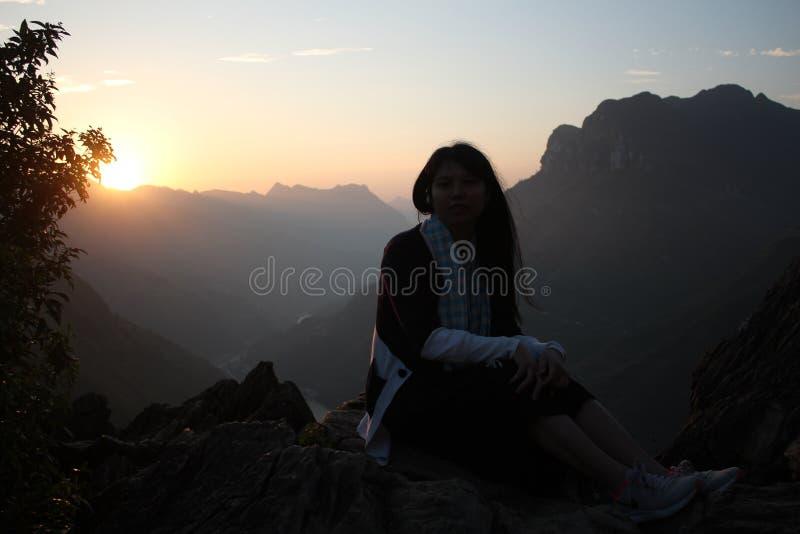 Wschód słońca przy Ma Pi Leng