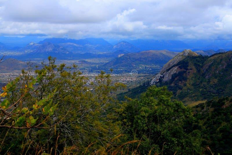 Wschodni średniogórza Zimbabwe zdjęcie stock