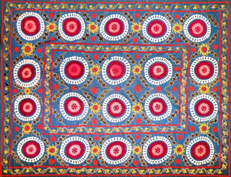 Wschodni arabski dekoracyjny broderia wzór zdjęcia royalty free