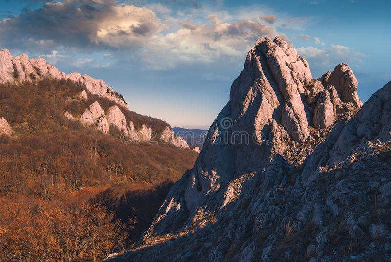 Wschodni Crimea mountains_3 obrazy royalty free
