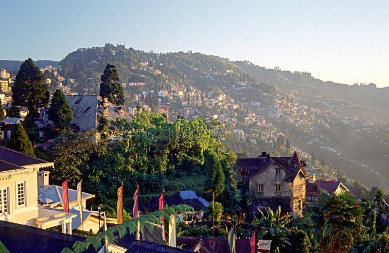 wschodni himalaje miejskich darjeeling zdjęcia royalty free