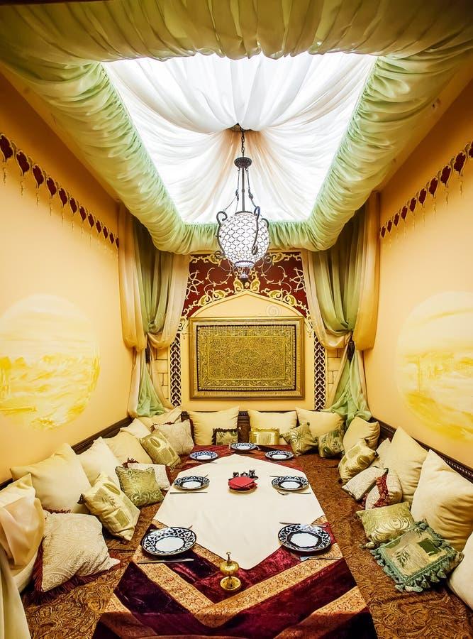 Wschodni luksusowy wnętrze obraz royalty free