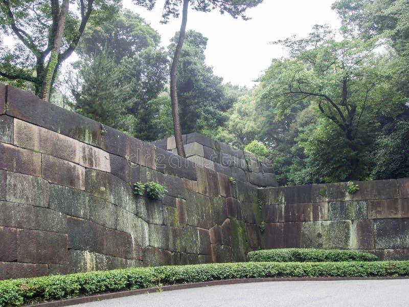 Wschodni ogródy Cesarski pałac, Tokio, Japonia zdjęcie royalty free