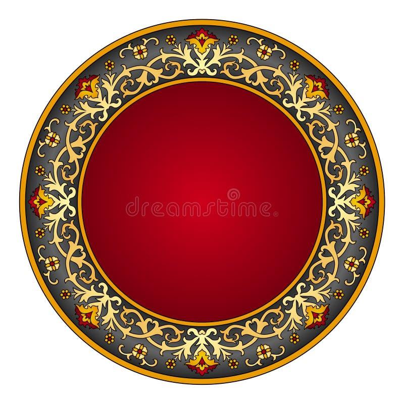 wschodni ornament ilustracja wektor