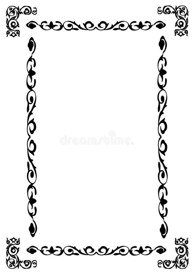 wschodni ornament royalty ilustracja